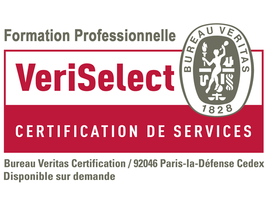 logo Veriselect Certification de services Formation Professionnelle INTERFORMAT