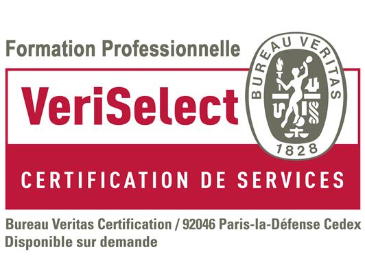 logo Veriselect Certification de services Formation Professionnelle INTERFORMAT