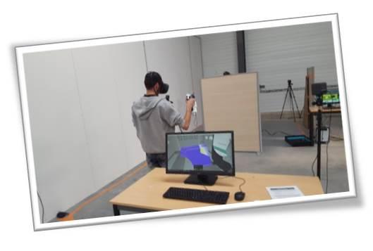 Formation Peintre industriel avec Réalité Virtuelle 1